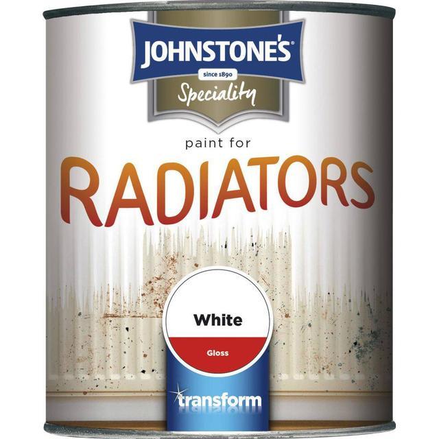 Johnstones Speciality Radiator Paint White 0.25L