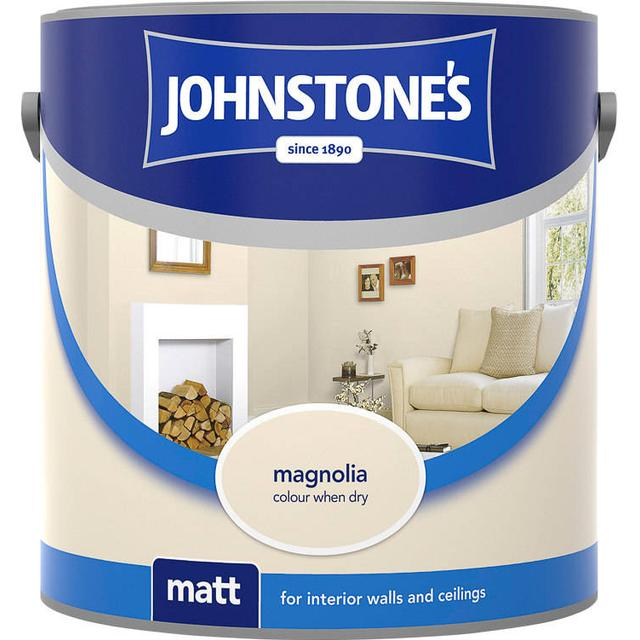 Johnstones Matt Wall Paint, Ceiling Paint Beige 6L