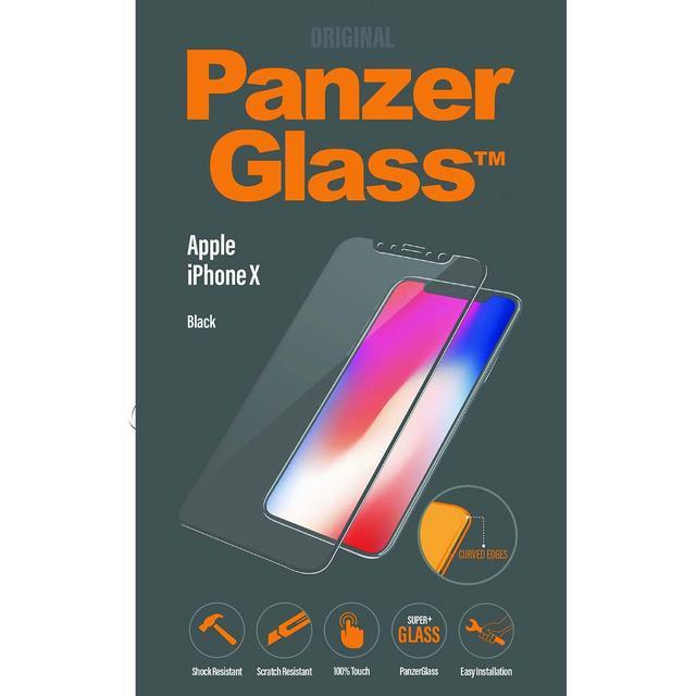 PanzerGlass Screen Protector Curved Black (iPhone X)