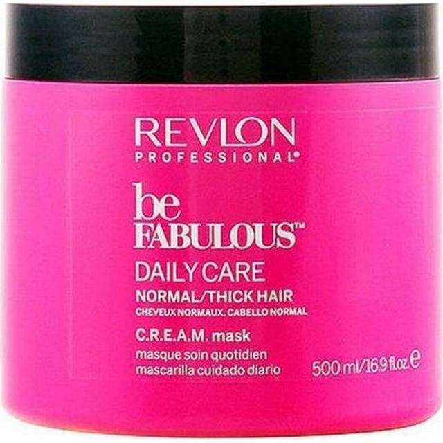 Revlon Be Fabulous Daily Care Normal/Thick Hair Cream Mask 500ml