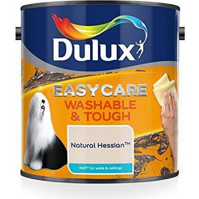 Dulux Easycare Washable & Tough Matt Wall Paint, Ceiling Paint Beige 2.5L