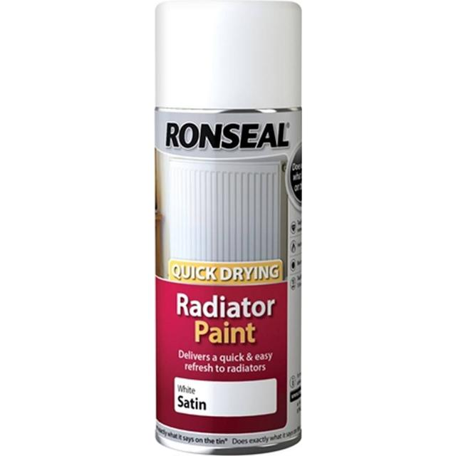 Ronseal One Coat Radiator Paint White 0.4L