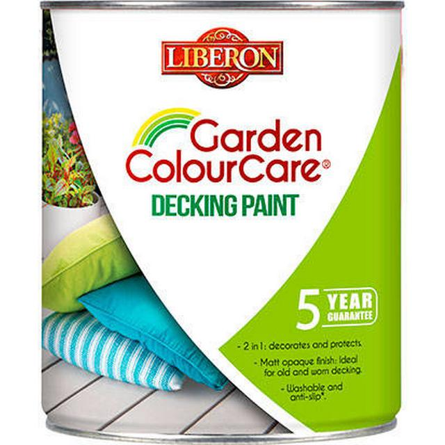Liberon Garden Colourcare Wood Paint Brown 2.5L