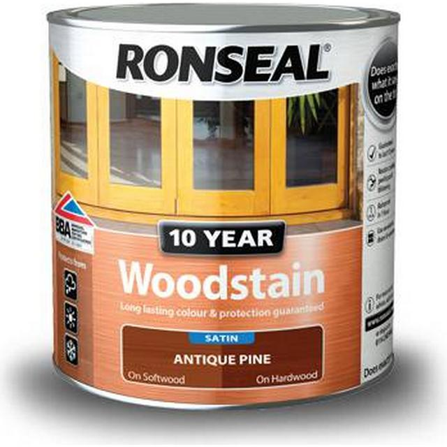 Ronseal 10 Year Woodstain Brown 0.25L