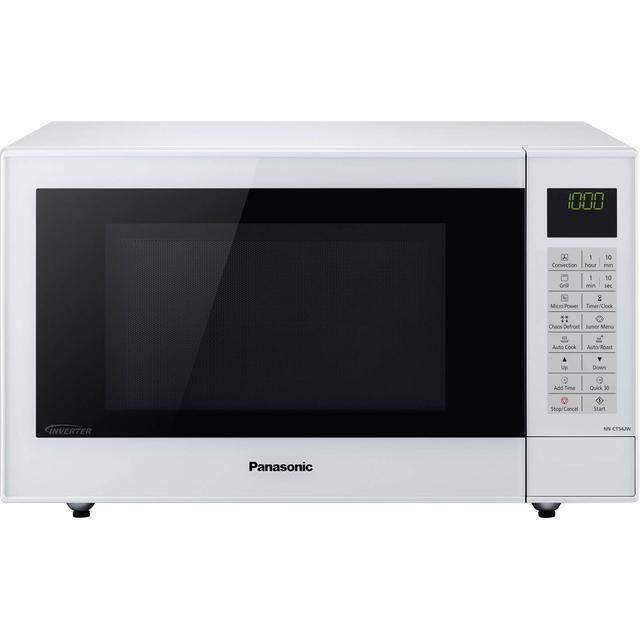 Panasonic Nn Ct54jwbpq White Compare Prices Pricerunner Uk