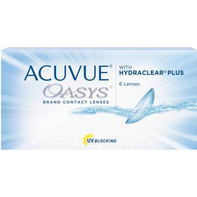 Johnson & Johnson Acuvue Oasys Hydraclear Plus 6-pack