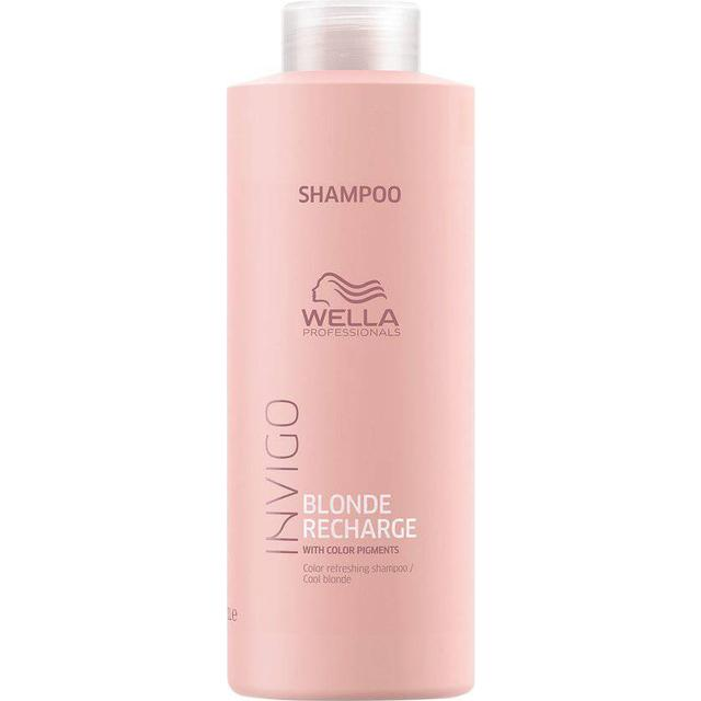 Wella Invigo Blonde Recharge Cool Blond Shampoo 1000ml