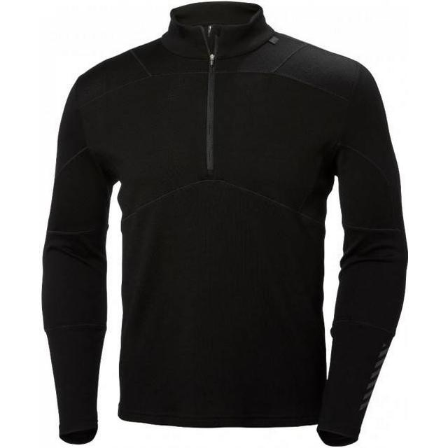 Helly Hansen HH Lifa Merino 1/2 Zip Men - Black