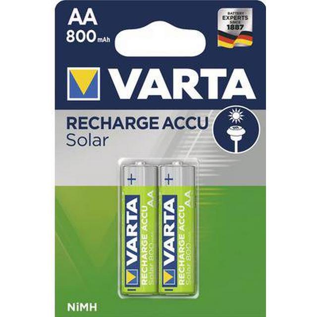 Varta AA Solar 800mAh 2-pack
