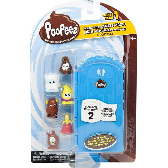 Poopeez Series 1 Porta Potty Multi Pack