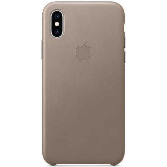 Apple Leather Case (iPhone XS)