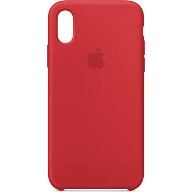 Apple Silicone Case (PRODUCT)RED (iPhone XS)