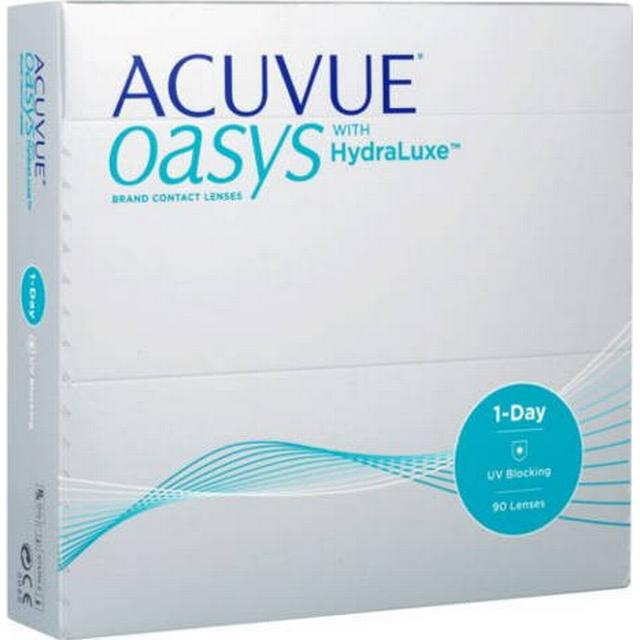 Johnson & Johnson 1-Day Acuvue Oasys with HydraLuxe 90-pack