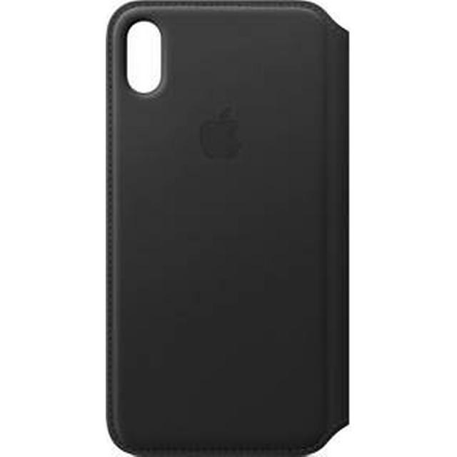 Apple Leather Folio Case (iPhone XS Max)