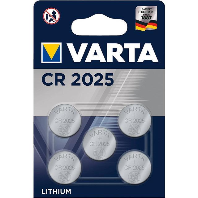 Varta CR2025 5-pack