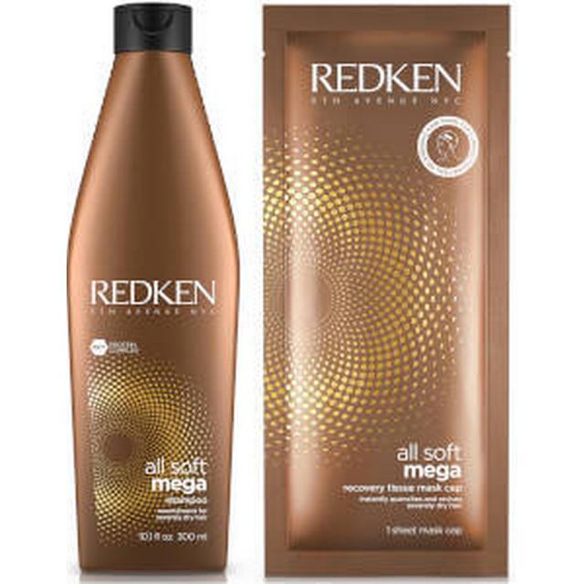 Redken All Soft Mega Shampoo & Sheet Mask Duo