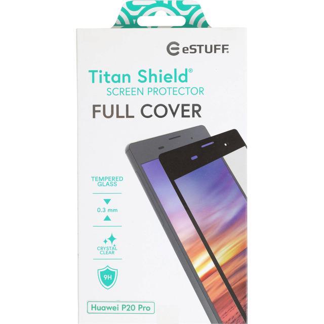 eSTUFF Titan Shield Fullcover Screen Protector (Huawei P20 Pro)