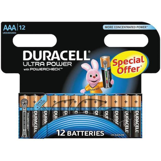 Duracell Ultra Power AAA Compatible 12-pack