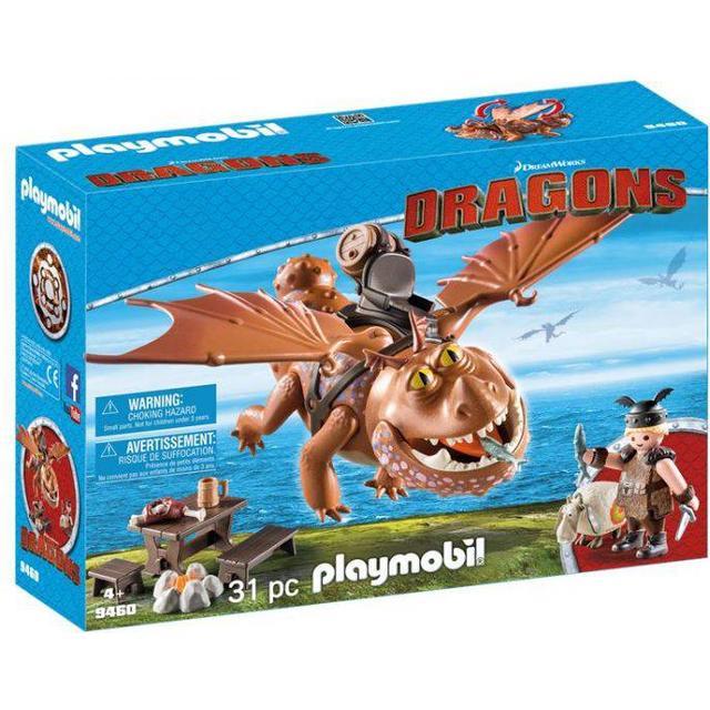 Playmobil Fishlegs & Meatlug 9460