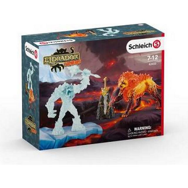 Schleich Battle for the Superweapon Frost Monster vs.Fire Lion 42455