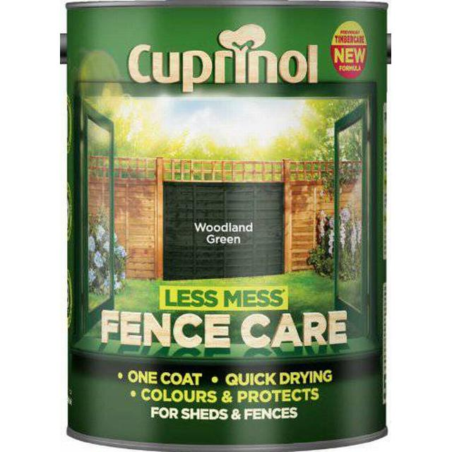 Cuprinol Less Mess Fence Care Wood Protection Green 6L