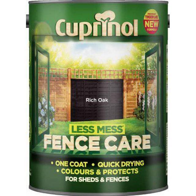 Cuprinol Less Mess Fence Care Wood Protection Black 6L