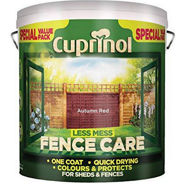 Cuprinol Less Mess Fence Care Wood Protection Red 6L