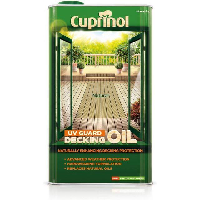 Cuprinol UV Guard Decking Oil Brown 5L