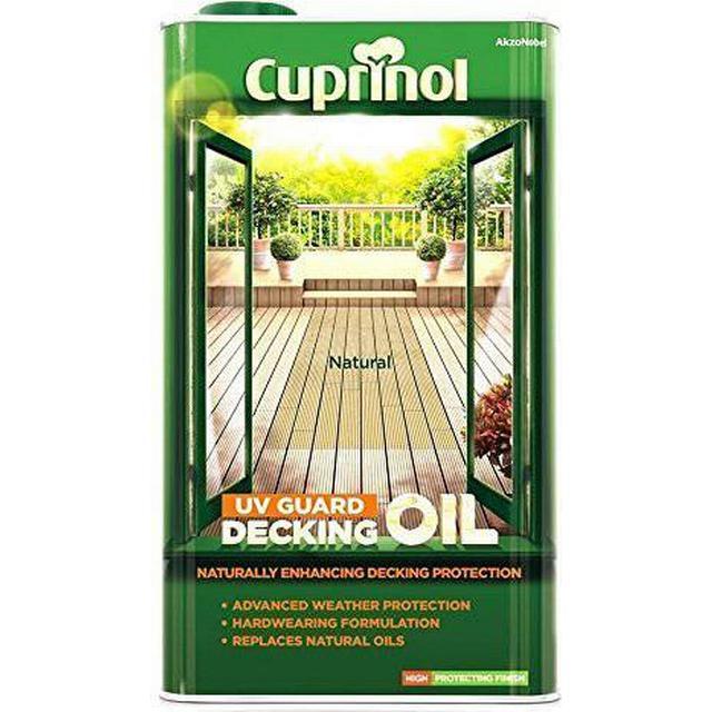 Cuprinol UV Guard Decking Oil Brown 2.5L