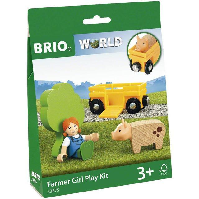 Brio Farm Girl Play Kit 33875