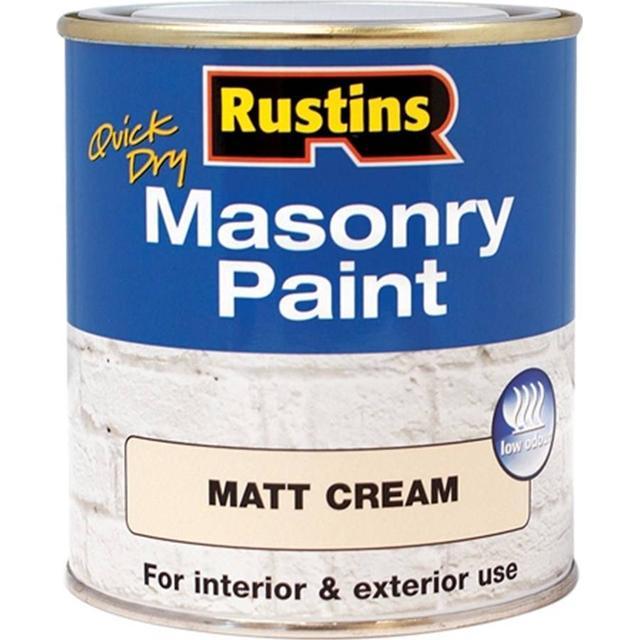 Rustins Quick Dry Masonry Concrete Paint Beige 0.25L