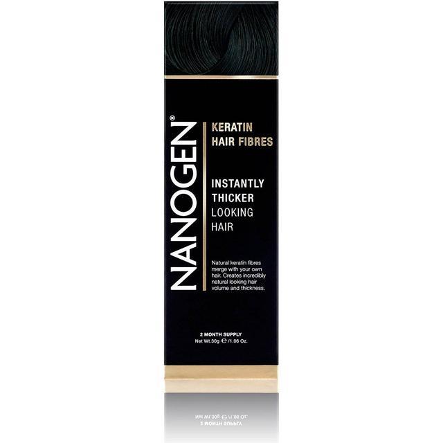 Nanogen Keratin Hair Fibres Black 30g