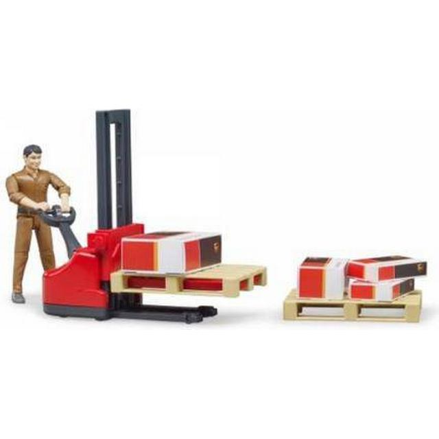 Bruder UPS Logistics Figure Set 62210