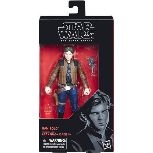 "Hasbro Star Wars The Black Series Han Solo 6"""