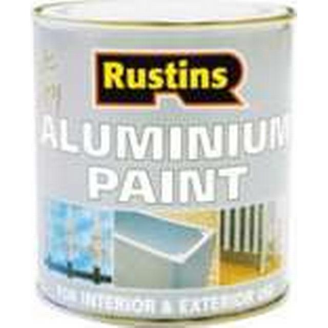 Rustins Quick Dry Aluminium Metal Paint Transparent 0.25L