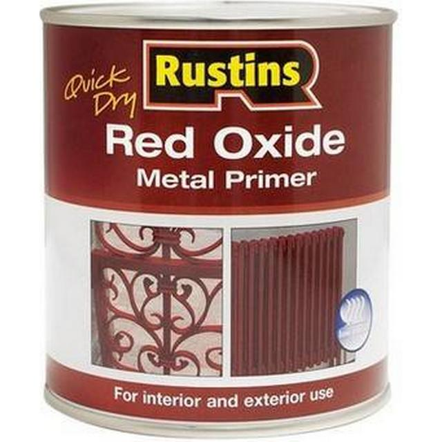 Rustins Quick Dry Red Oxide Metal Paint Red 1L