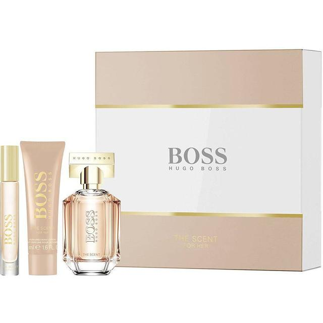 limited guantity good selling united states Hugo Boss The Scent for Her Gift Set EdP 50ml + Body Lotion 50ml + EdP 7.4ml