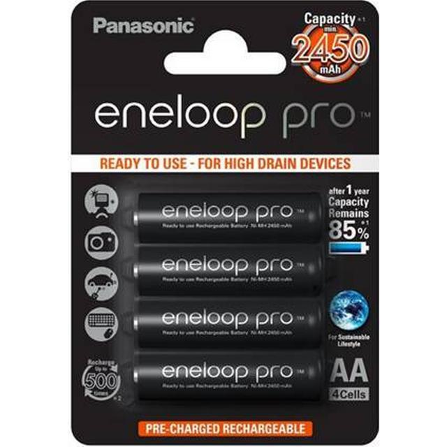 Panasonic Eneloop Pro AA Compatible 4-pack