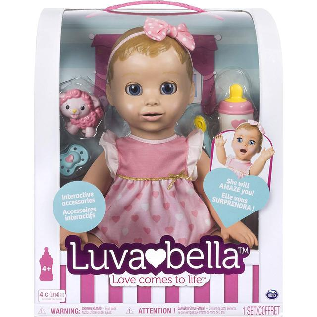 Spin Master Luvabella Blonde Hair