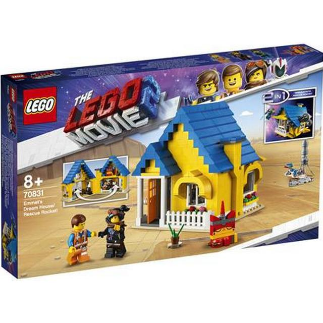 Lego Movie Emmet's Dream House Rescue Rocket 70831