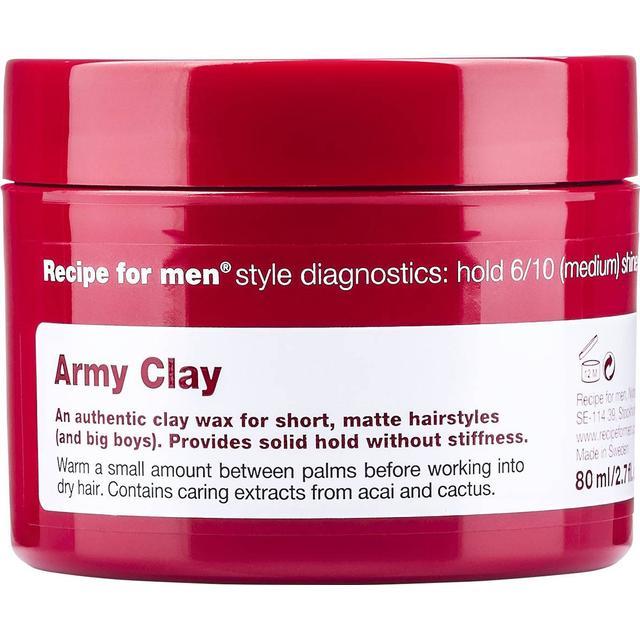 Recipe for Men Army Clay Wax 80ml