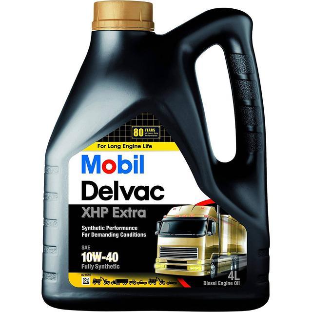 Mobil Delvac XHP Extra 10W-40 4L Motor Oil