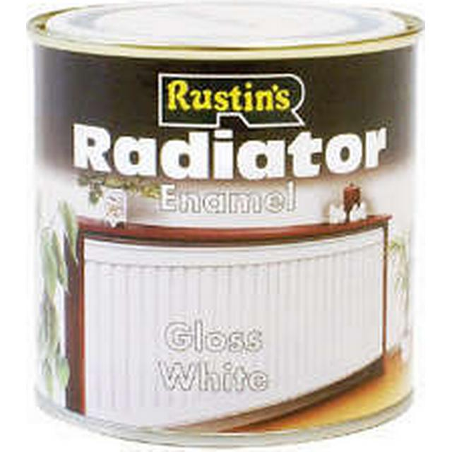 Rustins - Radiator Paint White 0.25L