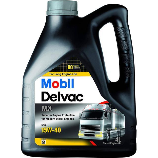 Mobil Delvac MX 15W-40 4L Motor Oil
