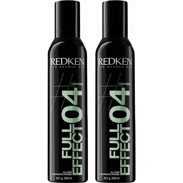 Redken Volume Full Effect 04 All-Over Nourishing Mousse 250ml 2-pack