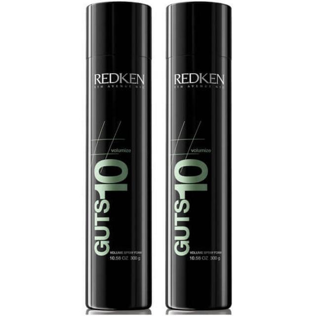 Redken Guts 10 Volume Spray Foam 300ml 2-pack
