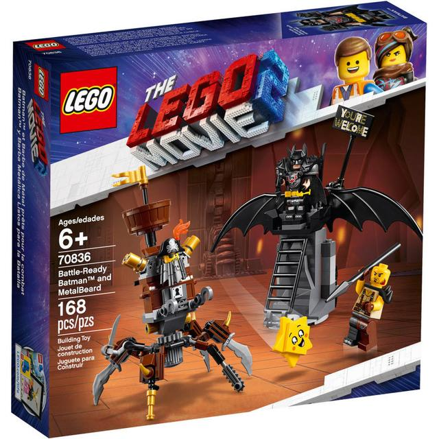 Lego Movie Battle Ready Batman & MetalBeard 70836