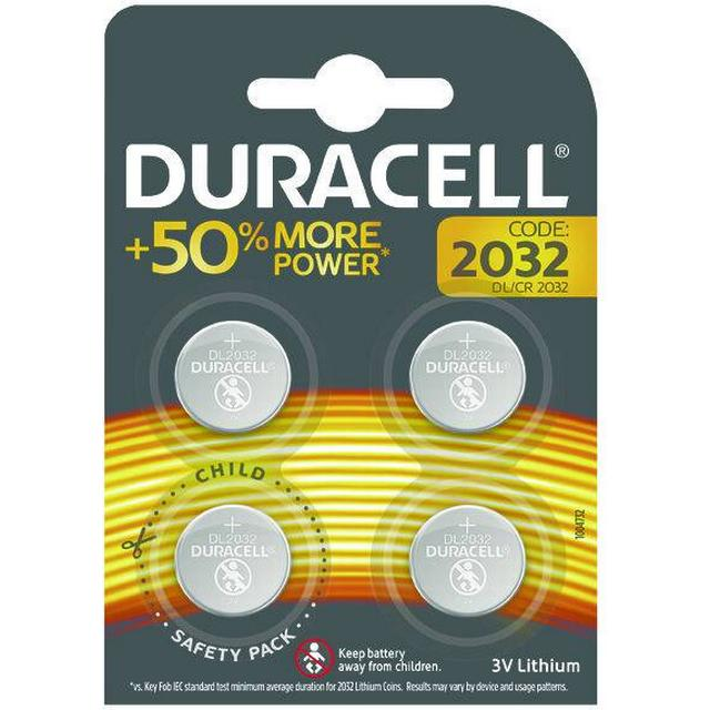 Duracell CR2032 Compatible 4-pack
