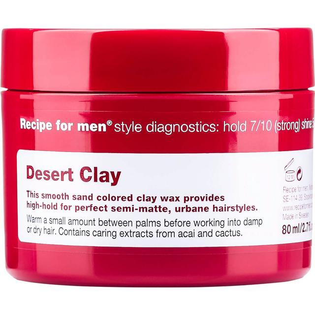 Recipe for Men Desert Clay Wax 80ml