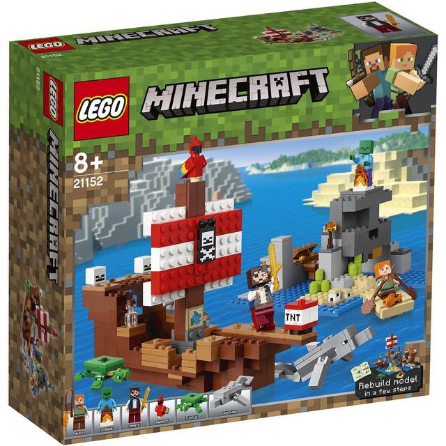 Lego Minecraft The Pirate Ship Adventure 21152